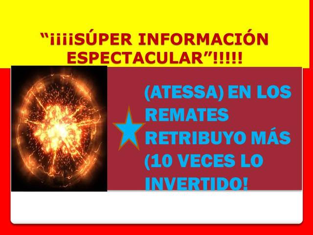 *(ADELANTADOS) o (CONFIRMADOS)= (SÚPER INFOS HÍPICAS)! CLICK  ATESSA_IMA