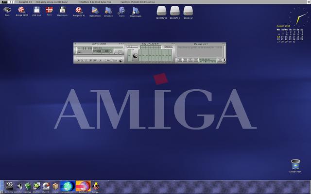 AMIKITX 10_5 MAC with OSXL as source - AmiDock - AmigaAMP with skin streaming HQ live internet radio
