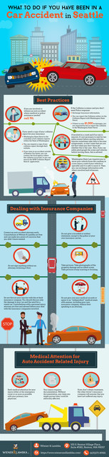 What to do if you have been in a Car accident in Seattle