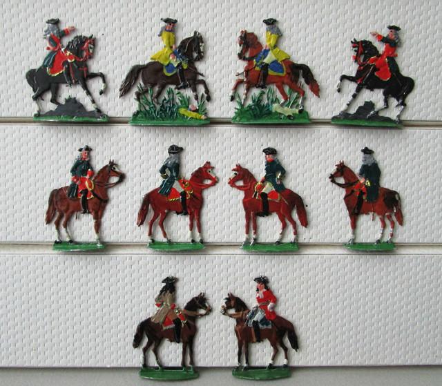 Russischer Generalstab b Poltawa 1709