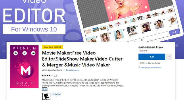 Movie Maker - Video Editor for Windows 10 | Games | Software Giveaways