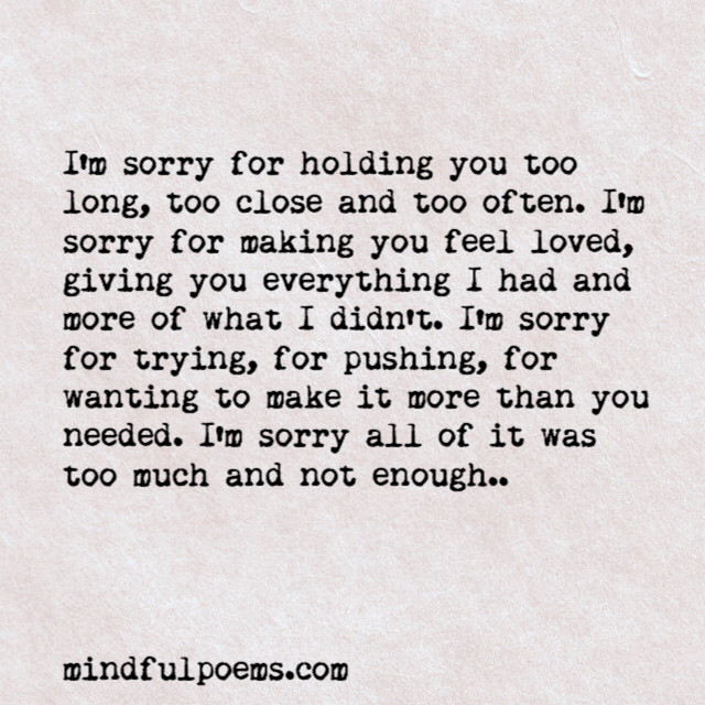Sorry Quotes Tumblr: Im Sorry Quotes And Sayings Tumblr Im Sorry Poems Tumblr