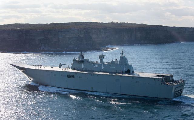 RIMPAC_2018_HMAS_ADELAINE_ANPHIBIOUS_SHIP