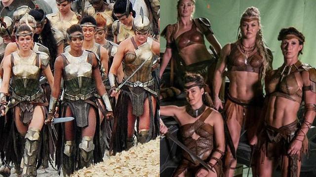 Trang phục của nữ chiến binh Amazon trong Justice League gây tranh cãi vì quá hở hang
