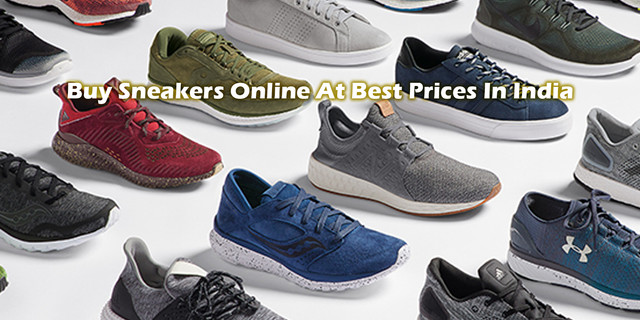 Buy Sneakers Online At Best Prices In India