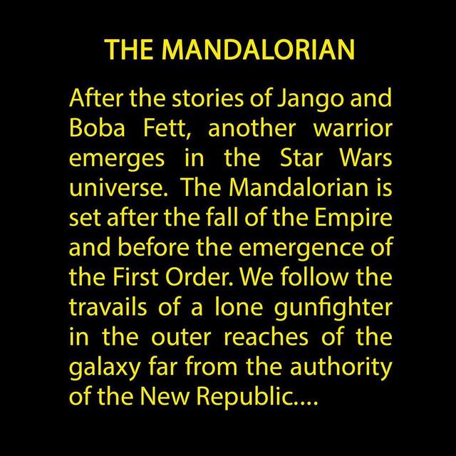 Star Wars : The Mandalorian [Star Wars - 2019] - Page 2 MANDA