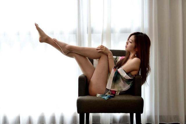 美腿緊實小巧肉體_性感花式內衣寫真_Michelle_Meng_夢夢