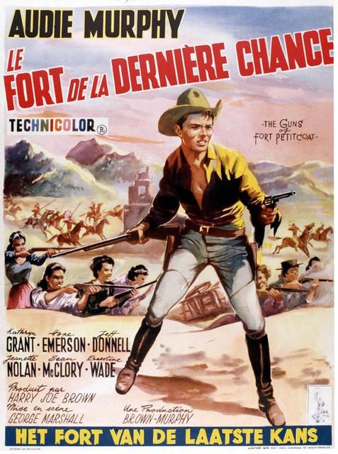 Guns Fort Petticoat Belg Jpg Fort Defiance Audie Murphy