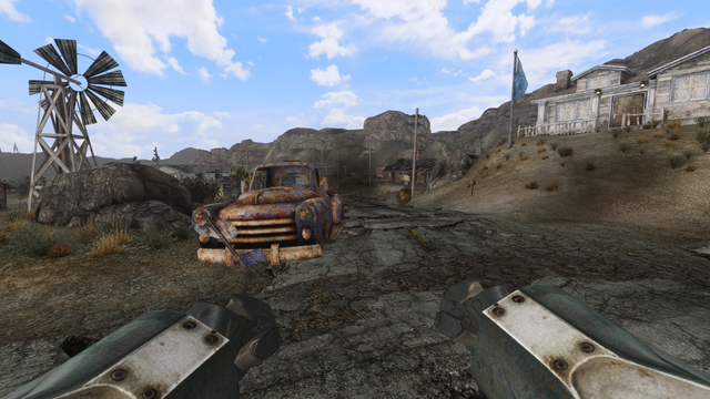 [FNV] Dragbody's FO4 Power Armors T-60 Glitch Fallout_NV_exe_DX9_20180919_000745