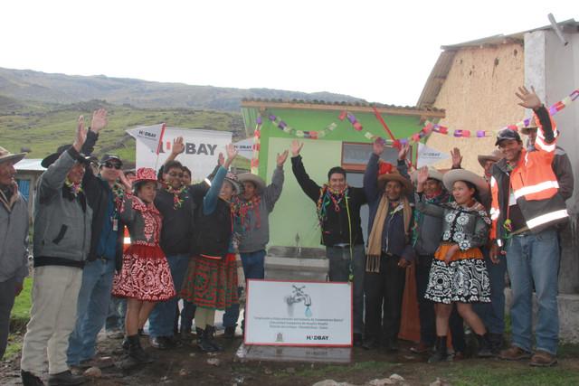 LIVITACA:Municipalidad de Livitaca y Hudbay Perú llevan agua potable a comunidad de Huaylla Huaylla