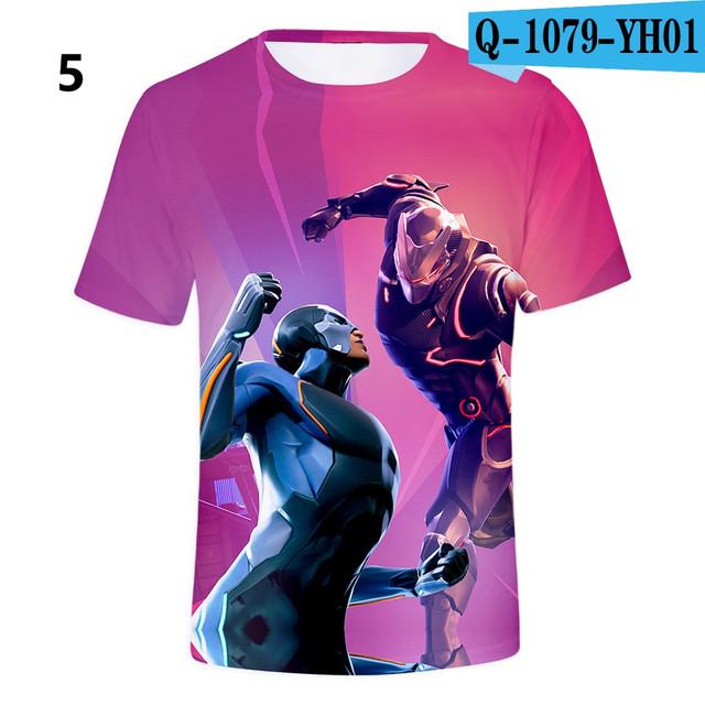 Battle-Royale-T-Shirts-Rainbow-Smash-Pony-Horse-Short-Sleeve-Tshirts-3-D-T-shirts-Boys-and-Q1079-YH01