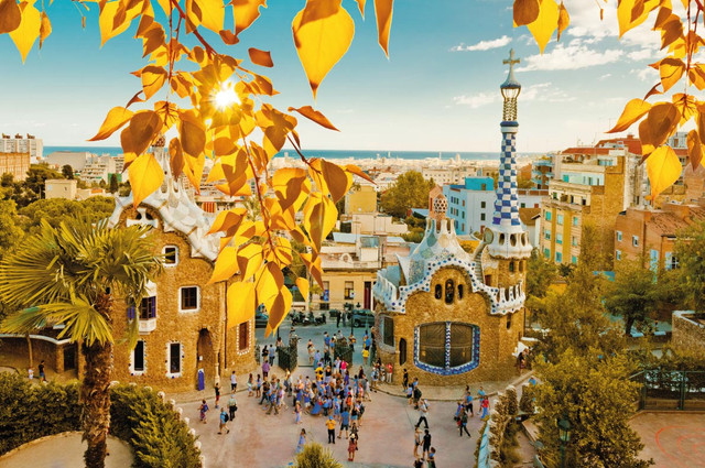 Barcelona best destinations for fall autumn in europe copyright valeri potapova european best destinations