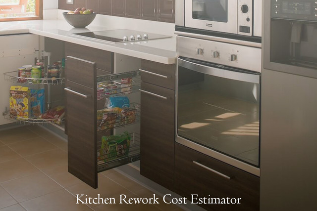 Kitchen Rework Cost Estimator