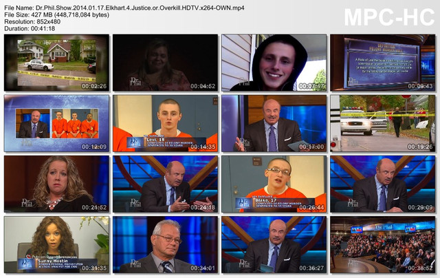 Dr Phil Show 2014 01 17 Elkhart 4 Justice or Overkill HDTV x264-OWN mp4