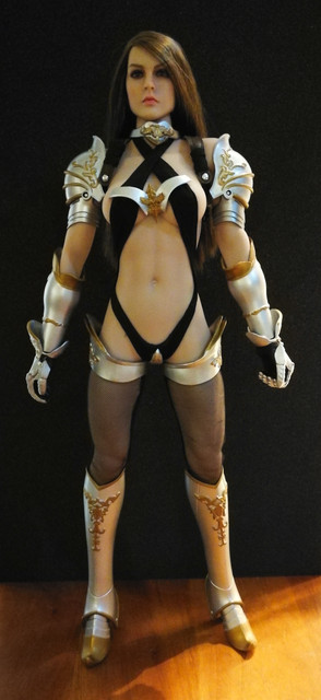 """1/6 Scale Lucifer Clothes Set For Fiona Valkyvia Chronicles LXF1702 12"""" figure 29"""