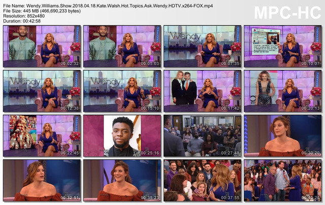 Wendy Williams Show 2018 04 18 Kate Walsh Hot Topics Ask Wendy HDTV x264-FOX mp4