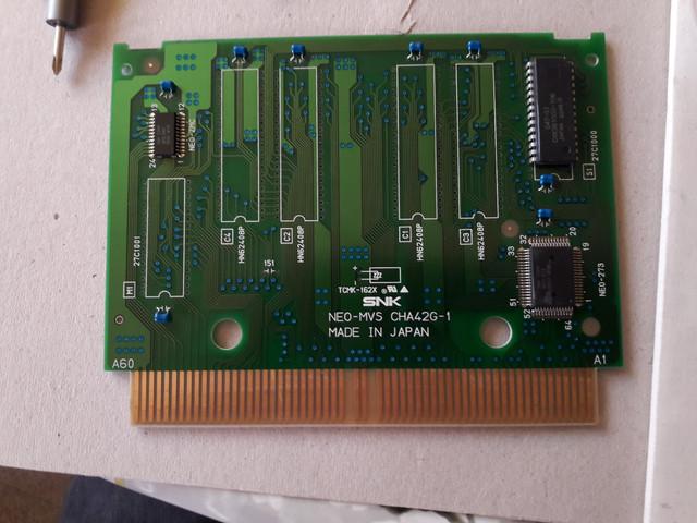 Neo Diagnostics BIOS + M1 pour tester mon slot Z80 error DSC_0959