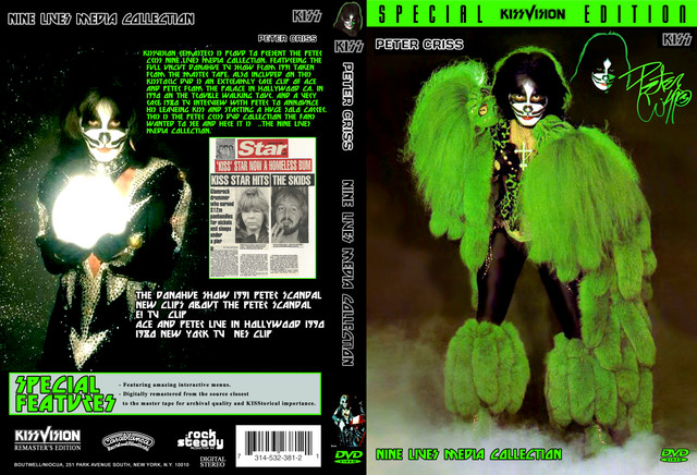 KISS / Peter Criss ~ Nine Lives Media Collection - Guitars101