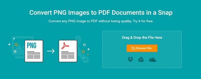 convert png images to pdfs online