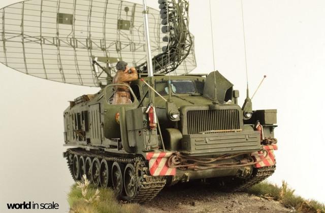 "P-40 ""Longtrack""-Radar - 1:35 v. Panzershop, Trumpeter, Friul, ... 9"