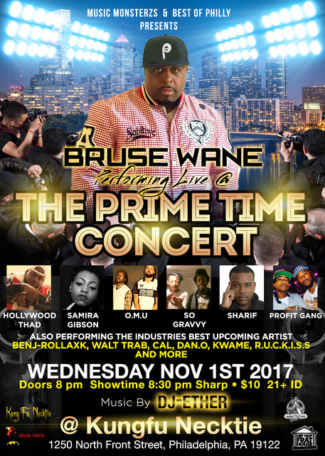 Bruse Wane The Prime Time Concert