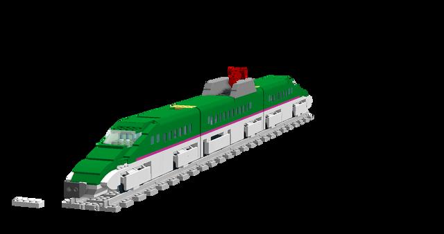 [Image: E5_Bullet_Train.png]