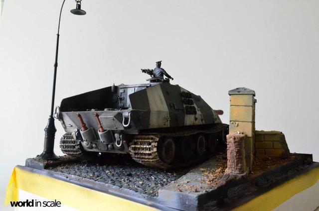 Jagdpanzer E-100 - 1/35 of Trumpeter 29351803_1016206488546866_6556493266824364109_o