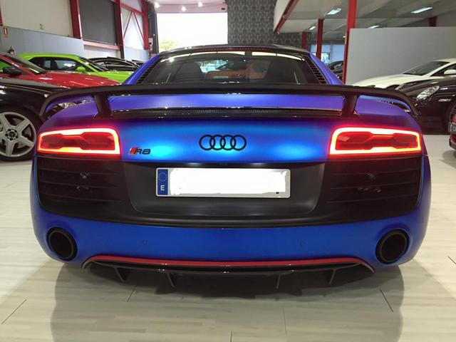 Audi R8 V8 V10 Armytrix Titanium Exhaust Muffler Tuning