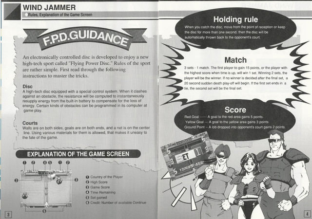 [Scan] Notices, flyers, artsets... NGCD - AES - MVS Flying Power Disc / Windjammers[Scan] Notices, flyers, artsets... NGCD - AES - MVS - PS4 - PSVita - Switch Flying Power Disc / Windjammers 2