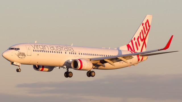 Virgin Australia 737 800 Maroubra Beach VH YID 290518 V2