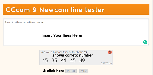TEST YOUR CCcam & NewCamd !! With line tester  Amazing website!