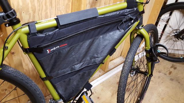 c7982d5c135 Is my Revelate Ripio Frame Bag too Large   Saggy  Pics inside - Bike ...