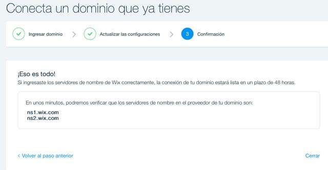 Conecta tu dominio a tu sitio de Wix