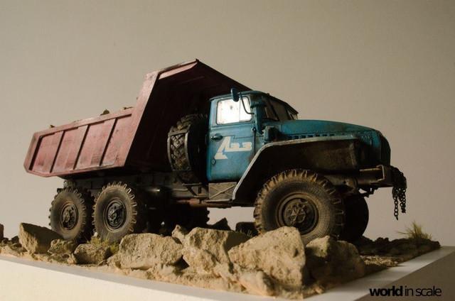 "Ural-4320 ""Dumper Truck"" - 1/35 by Trumpeter, Balaton Modell 25626331_960247430809439_287059634236599899_o"
