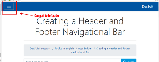 DecSoft's Support - Creating a Header and Footer