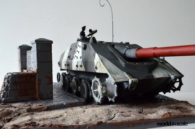 Jagdpanzer E-100 - 1/35 of Trumpeter 29366454_1011987205635461_6477950802911559680_o