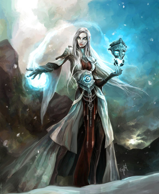 3 Sorceress Lunar Sorceress