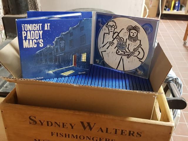 CDs arrive