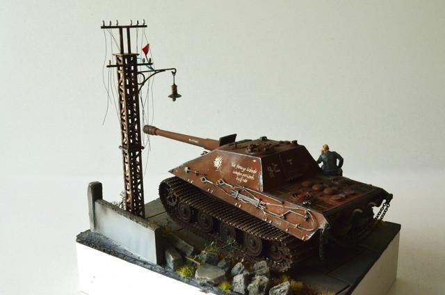 Jagdpanzer E-75 - 1:35 v. Trumpeter, Bolddivision DSC_2811