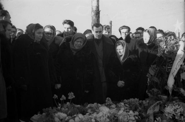 Dyatlov pass funerals 9 march 1959 26