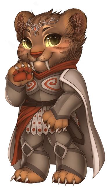 big_cat_Sabertooth_warrior_princess_base
