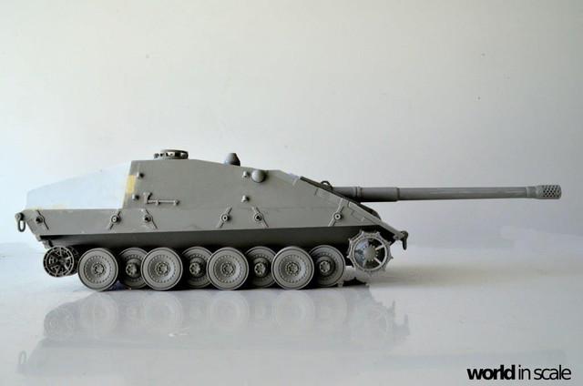 Jagdpanzer E-100 - 1/35 of Trumpeter 28514771_1003605259806989_7701150941473293787_o