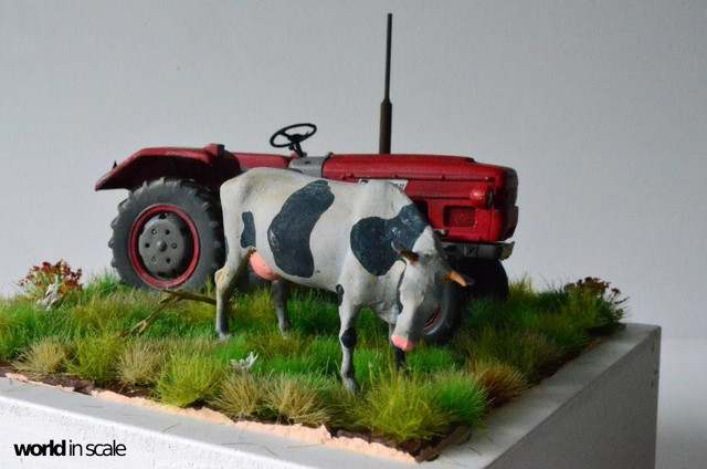 Zetor 3511 - 1:35 of SKP Models 23847283_946722352161947_6386109876936018681_o