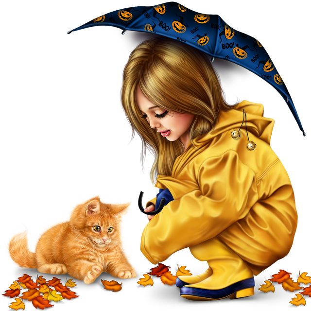 little-girl-in-raincoat-with-a-kitty-png-5803791bbfb9ce878.png
