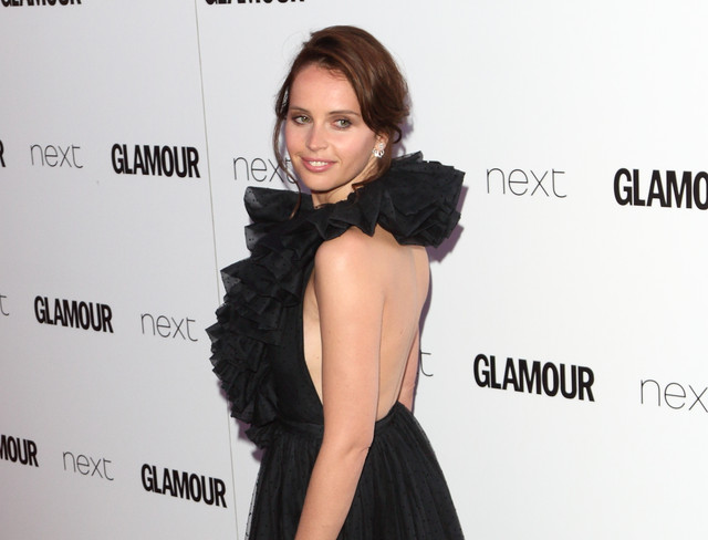 Glamour Women Of The Year Awards at Berkeley Square Gardens London Featuring Felicity Jones Where Lo