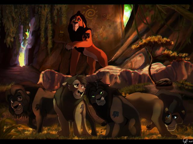 Pide Una imagen (Juego) - Página 2 La-guardia-del-leon-de-scar