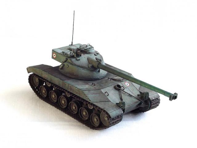 Бумажная модель танка