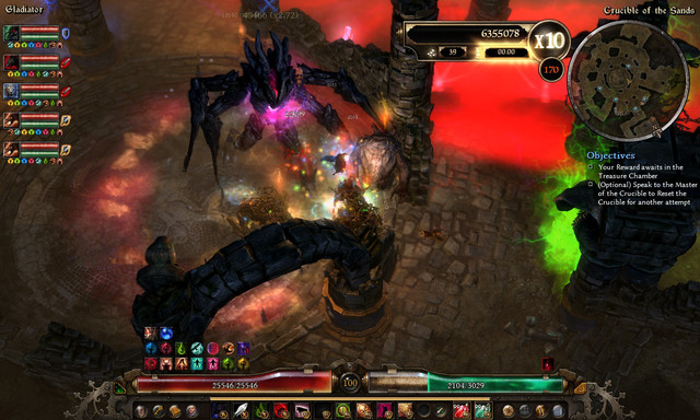 Grim Dawn Gladiator Crucible Builds