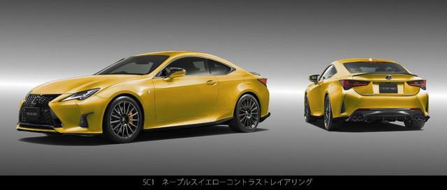 Lexus RC Facelift (2018) 32