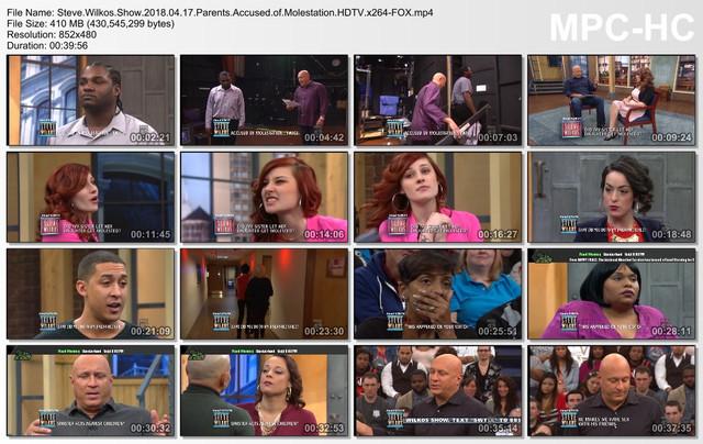 Steve Wilkos Show 2018 04 17 Parents Accused of Molestation HDTV x264-FOX mp4